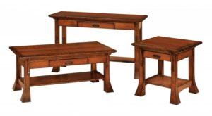 SCHWARTZ - Breckenridge - Size: (inches): 42w x 22d x 19h, Sofa Table: 48w x 18d x 30h, End Table: 22w x 24d x 23h, (not shown-End Table: 16w x 24d x 23h).