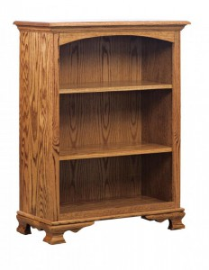 SCHWARTZ - HERITAGE SC-32 Shorty Heritage Bookcase - Dimensions (in inches): 32w x 14.5d x 42h.