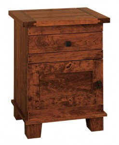 CHWARTZ - Laredo Nightstand - Dimensions: 1 drawer, 1 door,24w x 18d x 31.5h