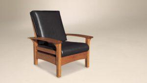 AJ's - Durango Morris Chair: 32.75w x 37d - 47d x 39h (springs standard).