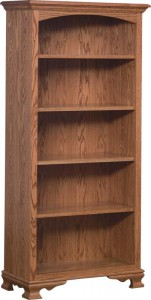 SCHWARTZ - SC-32 Heritage Bookcase - Dimensions (in inches): 32w x 14.5d x 67h.
