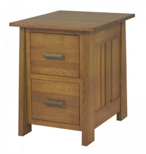 L & N - Freemont Mission File Cabinet: 24½x30x31, 22 inch Drawer, 24½x30x44 22 inch Drawer.
