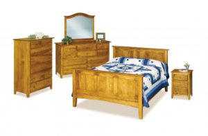 INDIAN TRAIL - Shaker - Dimensions: See bedroom galleries or call store for individual piece details.