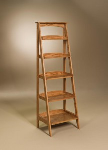 AJ - Ladder Shelf - Dimensions (in inches): 23.5w x 18d x 68.5h.