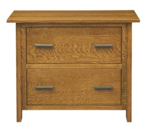 L & N - Freemont Mission Lateral File Cabinet: 39x22x31, 14½ inch Drawer.