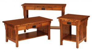 SCHWARTZ - Royal Mission - Size: (inches): 42w x 22d x 19h, Sofa Table:48w x 16d x 30h, End Table: 22w x 24d x 24h (Not Shown End Table: 16w x 24d x 24h).