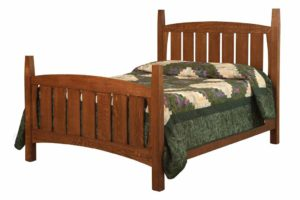 SCHWARTZ - Jadon Mission Bed - Dimensions: HB posts 59 1/2 inch, In between posts 54 inch, FB posts 40 3/4 inch, Overal size: King 83 inch x 87 inch, Queen 67 inch x 87 inch, Full 61 inch x 83 inch
