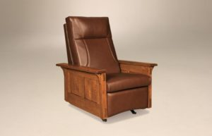 AJ's - McCoy Rocker Recliner: 33w x 38d x 43h (springs standard, not available in slats).