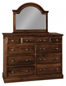 SCHWARTZ - Adrianna Dresser - Dimensions: 9 drawers, 60w x 20d x 43.5h