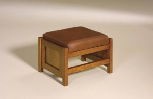 AJ's - Cubic Panel Footstool: 20w x 16d x 14.5h Cubic Panel Footstool 36w x 16d x 141/2h (not shown).