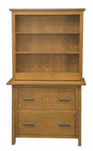 L & N - Freemont Lateral File: 39x22x31, 14½ inch Drawer, Cabinet With Topper: Please call store for topper details.