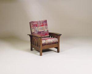 AJ's - Bow Arm Chair: 32w x 38d x 38.5h.