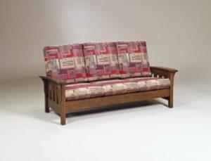 AJ's - Bow Arm Sofa: 77w x 38d x 38.5h.