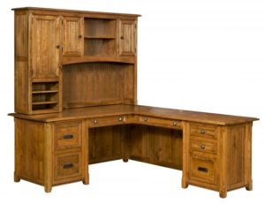 L & N - Ashton Corner Desk With Topper - Dimensions (in inches): Corner Desk-72x30x31, 22 inch Drawers, Return Desk-52x24x31,16 inches.