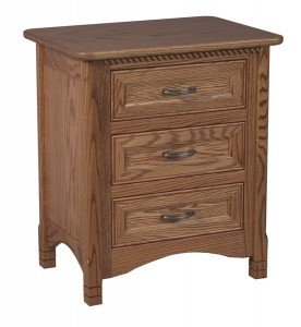 "OLD TOWN OAK - West Lake Night Stand - Dimensions: 23.5""w x 27""h x 17""d"