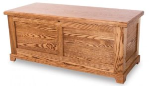 A & J - Shaker Cedar Chest - Dimensions (in inches):48w x 20.5d x 20.5h,fully cedar lined.