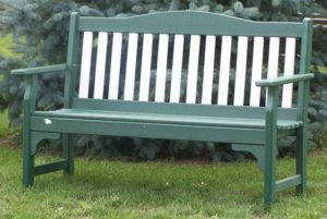 CREEKSIDE - Mission Park Bench - (M220) Size: 52 inches.