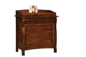 "OLD TOWN OAK - Castlebury 4 Drawer Dresser w/ Box Top - Dimensions: Dresser only size: 41""w x 39""h x 21.5""d, Dresser with box top size: 41""w x 45""h x 21.5""d"