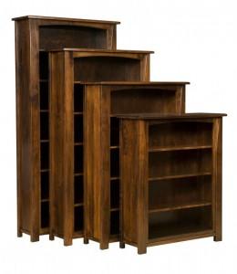 L & N - Mondavi Bookcases: 41x14x84 w/ 6 Shelves, 41x14x72 w/ 5 Shelves, 41x14x60 w/4 Shelves, 41x14x48 w/3 Shelves.