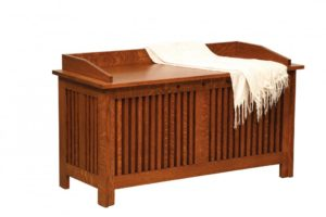 SCHWARTZ - Royal Mission Blanket Chest - Dimensions: Available w/cedar bottom insert, 48w x 20d x 27h