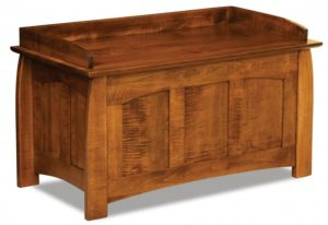 A & J - Royal Heritage Chest - Dimensions (in inches): 38.75 w x 20.25d x 23h, fully cedar lined.
