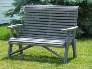 CREEKSIDE - Rollback Love Seat - (RB88) Size: Four feet.