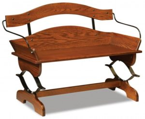 A & J - Buckboard Bench - Dimensions (in inches):45w x 22.5d x 32h.