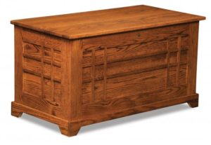 A & J - Heritage Cedar Chest - Dimensions (in inches): 38w x 19.5d x 20h, fully cedar lined.