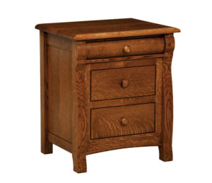 "OLD TOWN OAK - Castlebury Night Stand - Dimensions: 24""w x 28""h x 19""d"