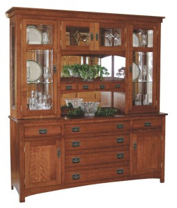 TOWNLINE - Cape Cod Mission 6-Drawer Hutch - Dimensions (in inches): 20d x 72w x 80h - Available with 3 drawer, 4 door base or a 6 drawer. 2 door base - Also available as a base-only sideboard - Custom features and finish options available, please see store for details.