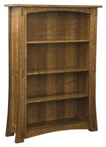 L & N - Modesto Bookcase: 43x13½x30, 43x13½x36, 43x13½x42, 43x13½x54, 43x13½x60, 43x13½x72, 43x13½x80.