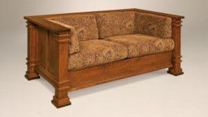 AJ's - Diamond Love Seat: 66.5w x 36.25d x 29.5h (springs standard).