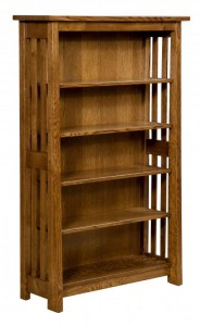 L & N - Open Freemont Mission Bookcase: 38x13x60.