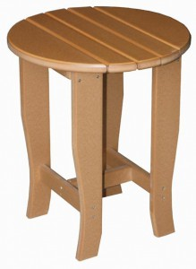 CREEKSIDE - Round End Table - (RT19) Size: 19 inches round x 23 inches high.