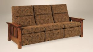 AJ's - McCoy Sofa Recliner: 87.75w x 38.5d x 40h (springs standard).