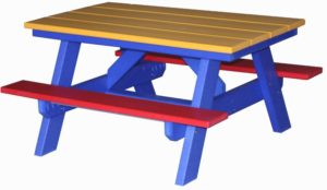 CREEKSIDE - Child's Picnic Table - (CH706) - Size: 40 inch.