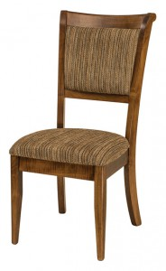 F & N - Adair Side Chair - Dimensions (in inches): 18w x 17d x 40h. Other available styles include: arm chair, swivel bar stool, stationary bar stool, and desk chair.