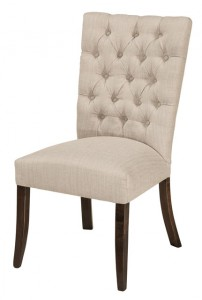 F & N - Alana Side Chair - Dimensions (in inches): 19w x 17d x 39h - Other available styles include arm chair, swivel bar stool, and desk chair.