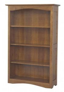 L & N - Shaker Hill Bookcase: 36x13x30, 36x13x36, 36x13x42, 36x13x54, 36x13x60, 36x13x72, 36x13x80.