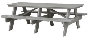 CREEKSIDE - Picnic Table - (PBT807) Size: 7 feet. (Also availabe in 6, 8, and 10 feet options, prices vary).