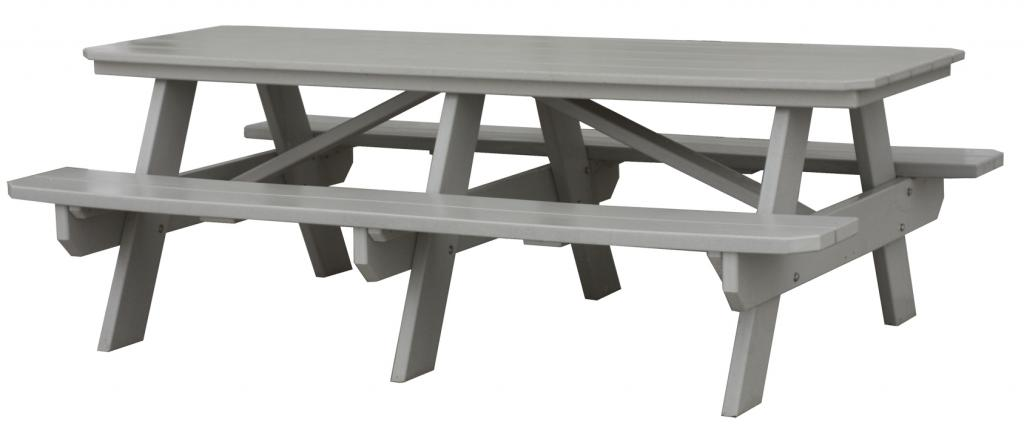 CREEKSIDE Picnic Table Three Sisters Furnishings - 7 foot picnic table