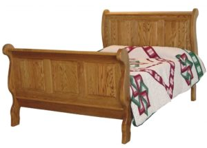 INDIAN TRAIL - Classic Raised Panel Sleigh - Dimensions: HB 50 inch, FB 37 inch