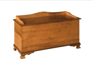 SCHWARTZ - Heritage Blanket Chest - Dimensions: Shown with solid sides, Available w/cedar bottom insert, 48w x 20d x 28h
