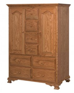 SCHWARTZ - Heritage Door Chest - Dimensions: 49.5w x 21.5d x 65h, 2 shelves