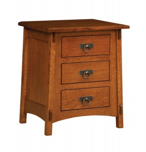 "OLD TOWN OAK - McCoy Night Stand - Dimensions: 24""w x 28""h x 19""d"