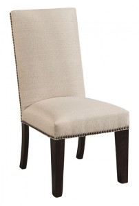 F & N - Corbin Side Chair - Dimensions (in inches): 20w x 18d x 42h - Other available styles include arm chair, swivel bar stool, stationary bar stool, and desk chair.
