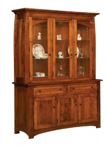 TOWNLINE - Henderson 3-Door Hutch - Dimensions (in inches): 20d x 62w x 80h, also available 2-Door 20d x 44w x 80h or 4-Door 20d x 80w x 80h - Also available as base-only sideboard - Custom features and finish options available, please see store for details.