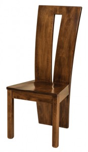 F & N - Delphi Side Chair - Dimensions (in inches): 18.5w x 17.5d x 41.5h - No other chair styles available.