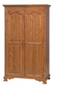SCHWARTZ - Heritage Wardrobe - Dimensions: 40w x 211⁄2d x 69h, 2 shelves, 1 clothing rod