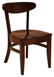 F & N - Hawthorn Side Chair - Dimensions (in inches): 18w x 17d x 33h - Other available styles include swivel bar stool and stationary bar stool.